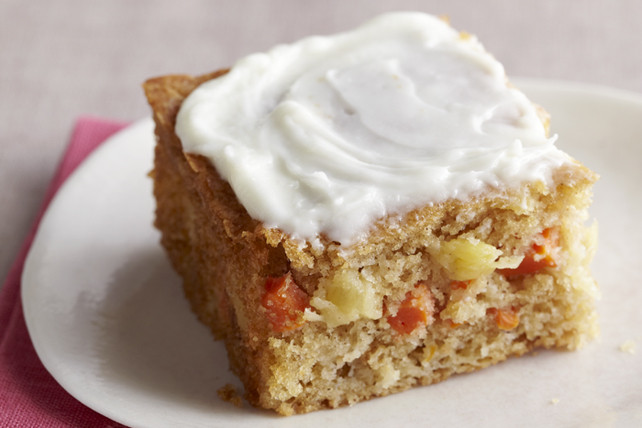 Healthy Carrot Cake Recipe With Pineapple  Carrot & Pineapple Cake Recipe Kraft Canada