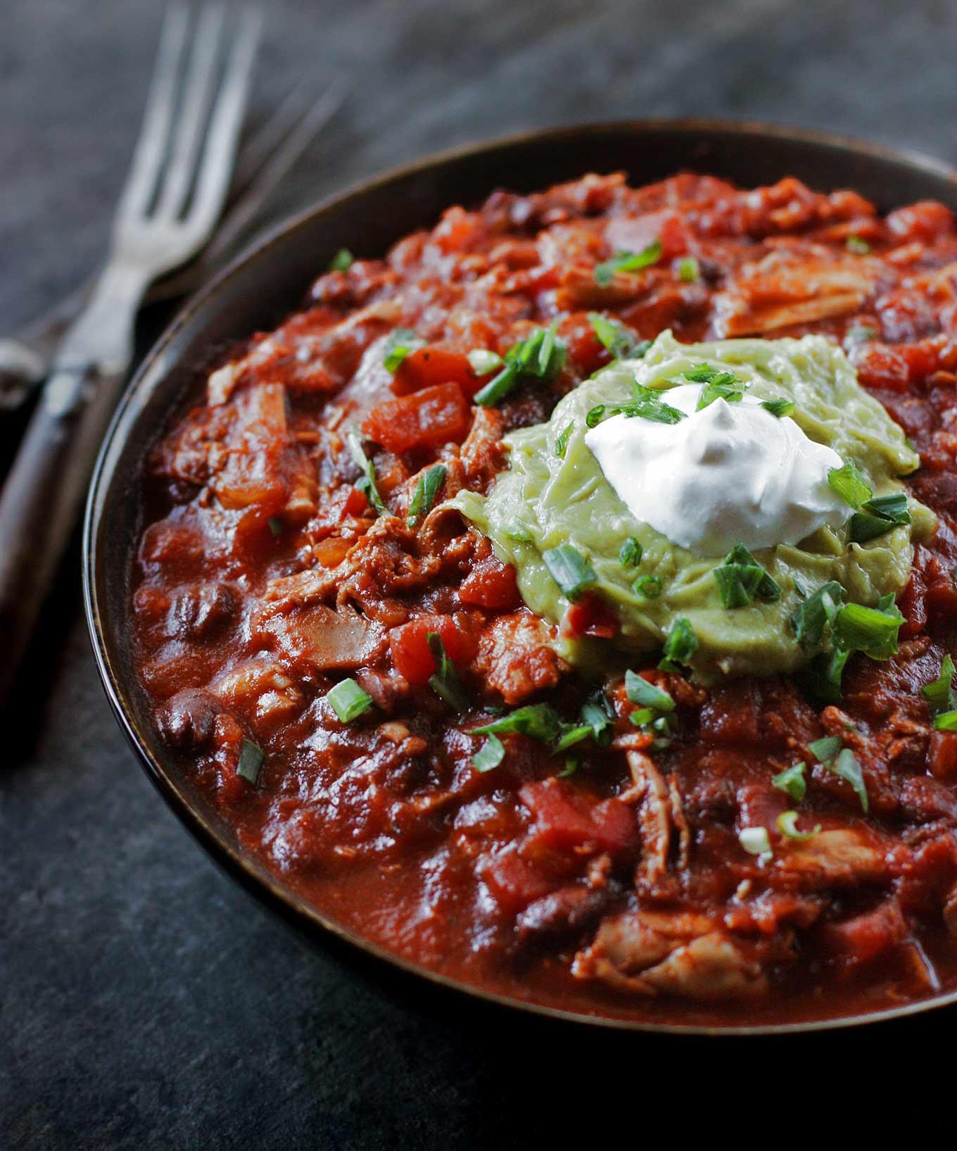 Healthy Chicken Chili Recipe  healthy chicken chili