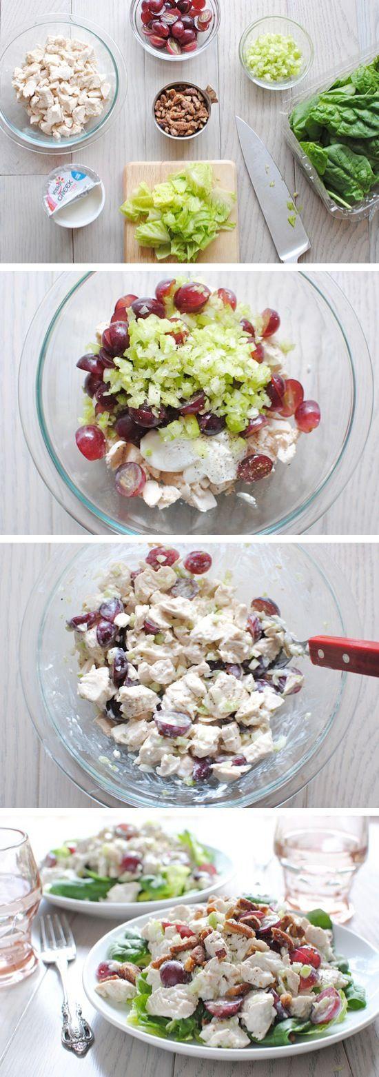 Healthy Chicken Salad Recipe With Greek Yogurt  Greek Yogurt Chicken Salad