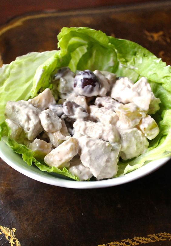 Healthy Chicken Salad Recipe With Greek Yogurt  Healthy Chicken Salad Recipe With Greek Yogurt