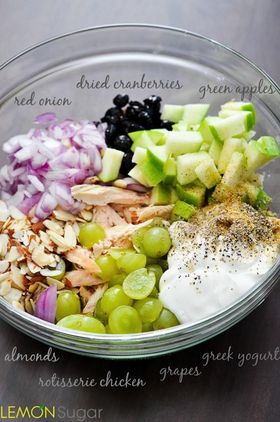 Healthy Chicken Salad Recipe With Greek Yogurt  c 1451 HEALTHY CHICKEN SALAD RECIPE