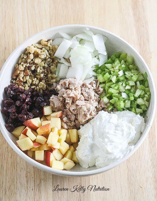 Healthy Chicken Salad Recipe With Greek Yogurt  Healthy Chicken Salad made with Greek Yogurt NourishEveryBody