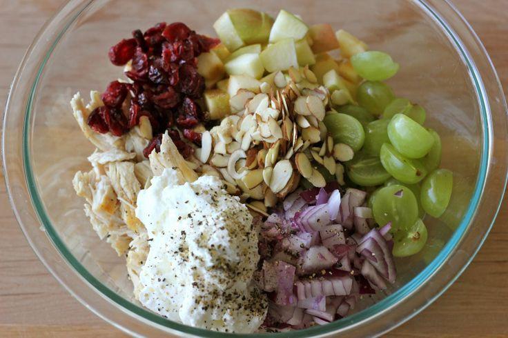 Healthy Chicken Salad Recipe With Greek Yogurt  Healthy Chicken Salad Recipe With Greek Yogurt