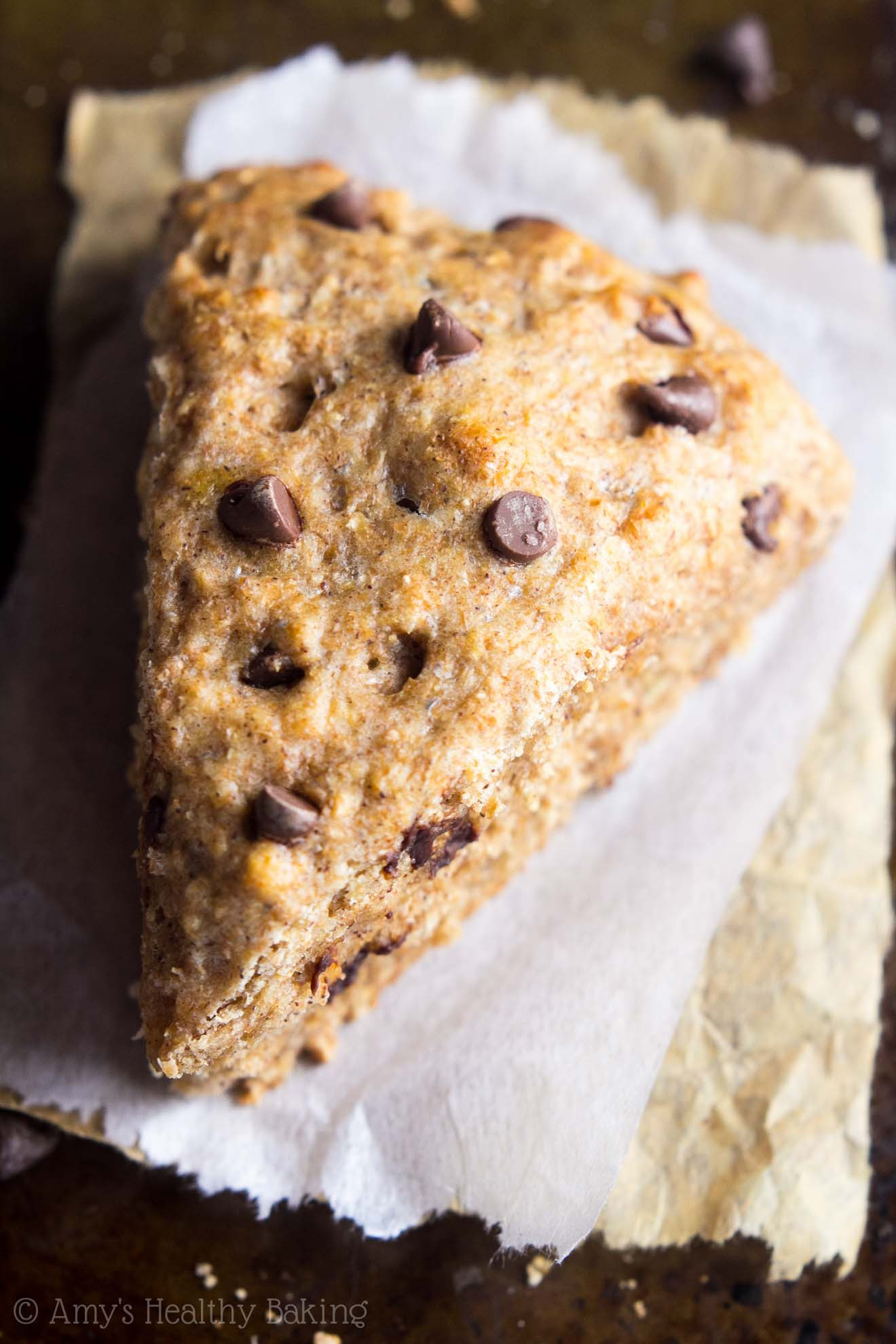 Healthy Chocolate Banana Bread  Healthy Chocolate Chip Banana Bread Scones With Step by
