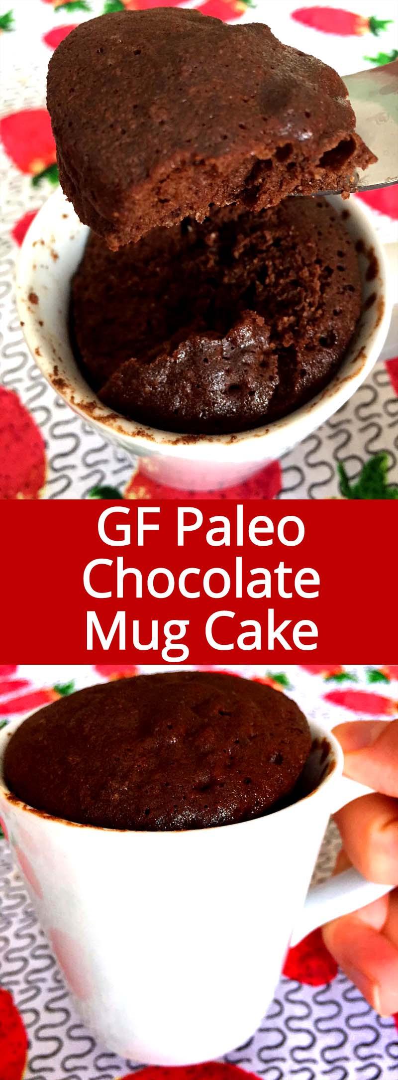 Healthy Chocolate Mug Cake  Healthy Chocolate Mug Cake Recipe Gluten Free Paleo