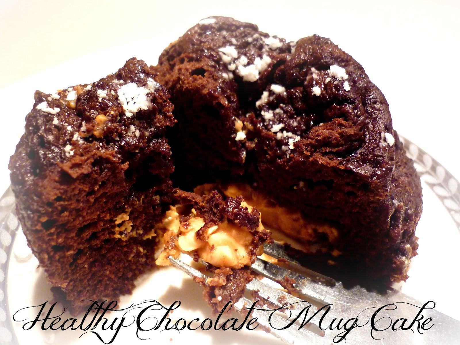 Healthy Chocolate Mug Cake  Survival Guide by The Working Mom Healthy Chocolate Mug