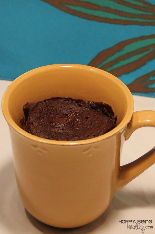 Healthy Chocolate Mug Cake  The Best Healthy Chocolate Mug Cake