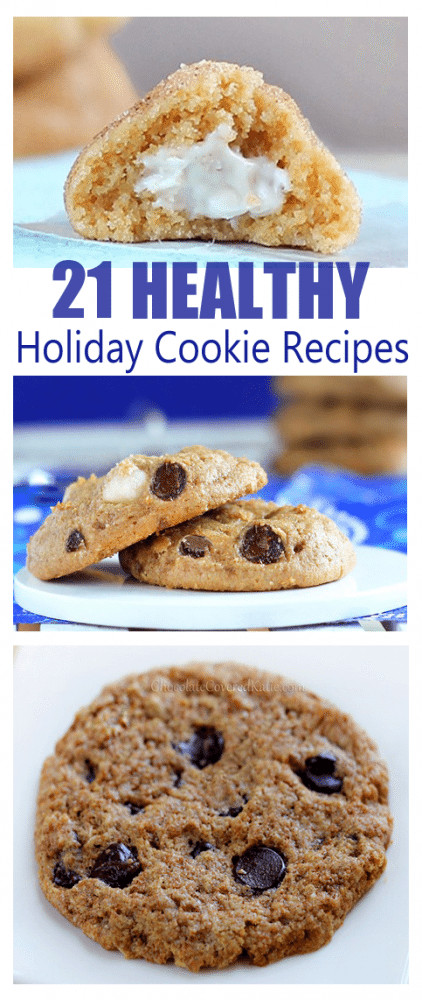Healthy Christmas Cookies  21 Secretly Healthy Cookie Recipes