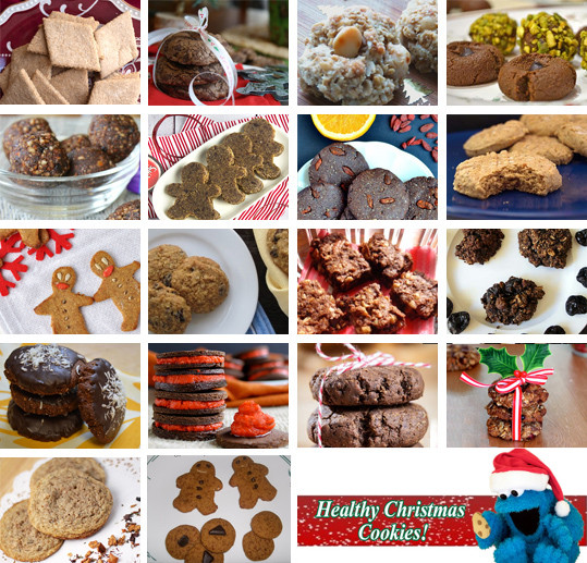 Healthy Christmas Cookies  Healthy Christmas Cookie Round Up Tessa the Domestic Diva
