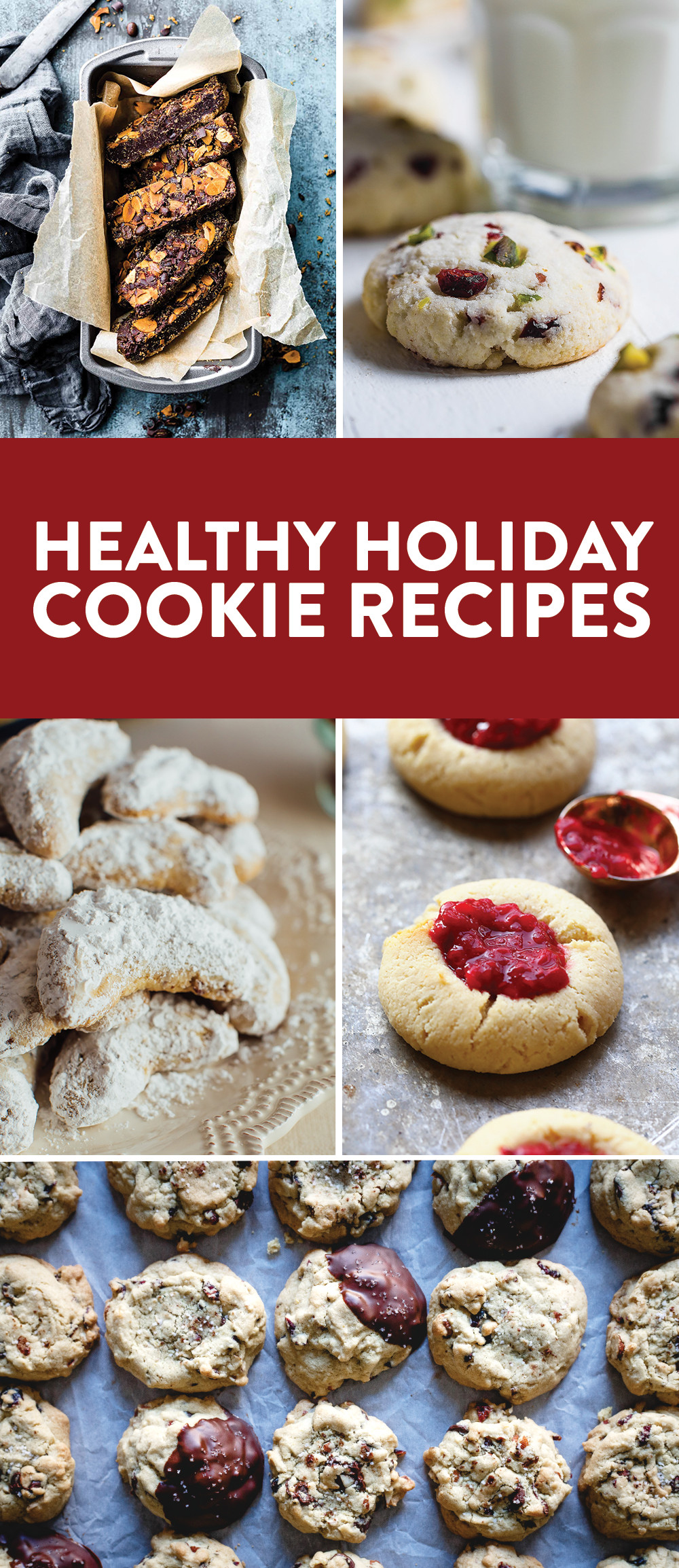 Healthy Christmas Cookies  Healthy Soft Raspberry Thumbprint Cookies 5 Healthy