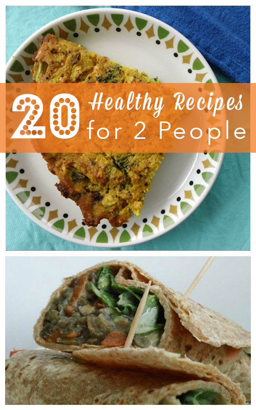 Healthy Cooking For Two  Cooking for Two 20 Healthy Recipes for Two People