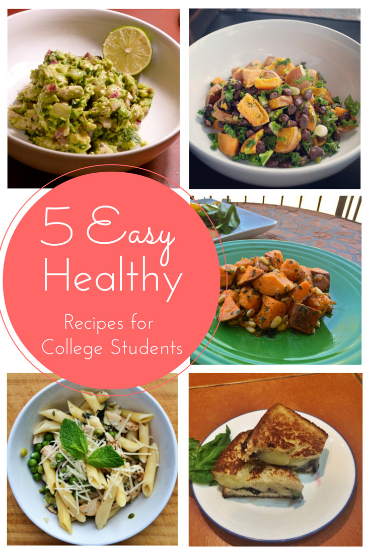 Healthy Cooking For Two  5 Easy Healthy Recipes for Busy College Students The
