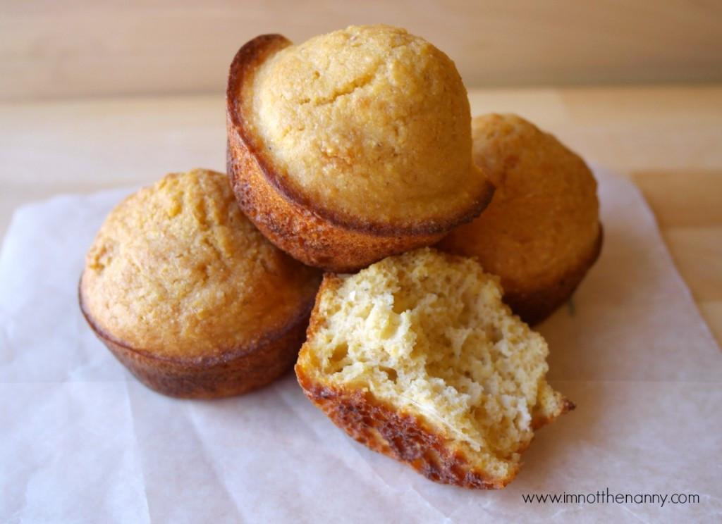 Healthy Cornbread Muffins  Honey Cornbread Muffins with Greek Yogurt Recipe I m Not