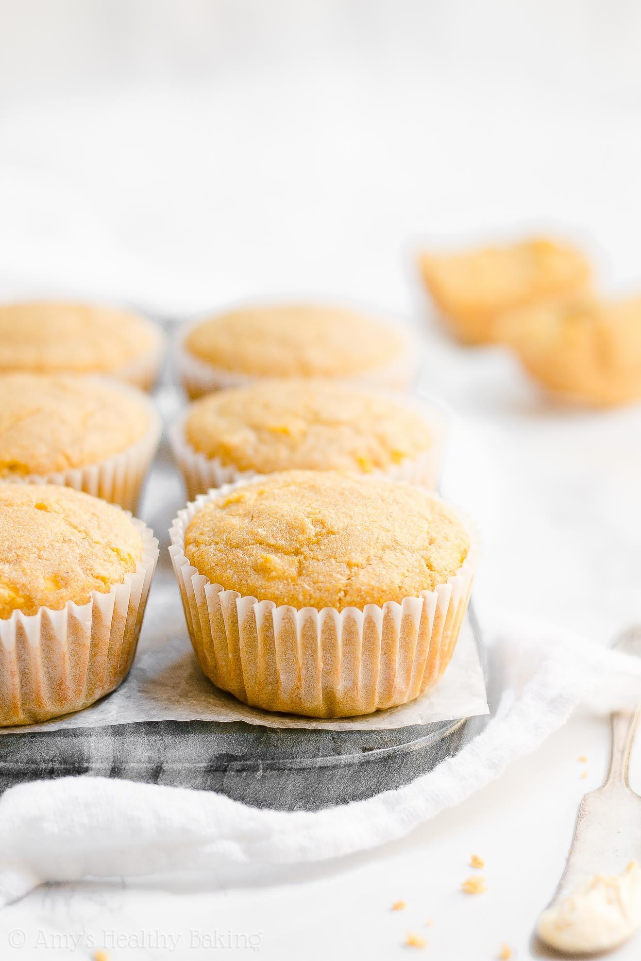 Healthy Cornbread Muffins  The Ultimate Healthy Cornbread Muffins