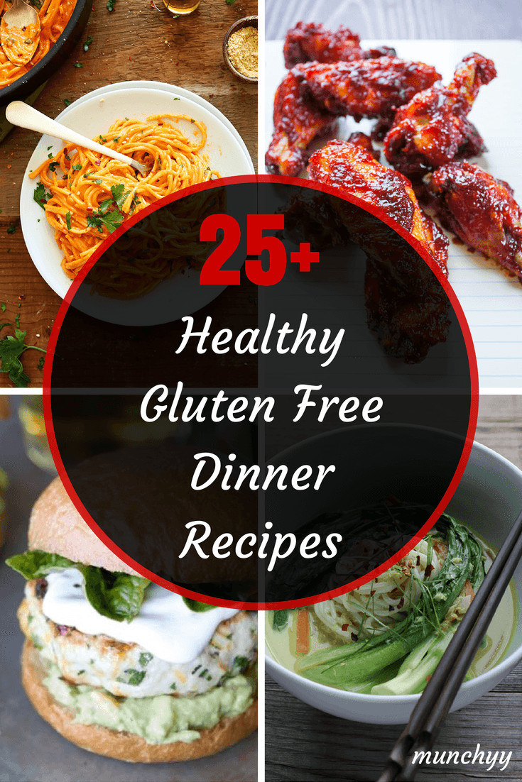 Healthy Dairy Free Recipes  25 Best Healthy Gluten Free Dinner Recipes Munchyy
