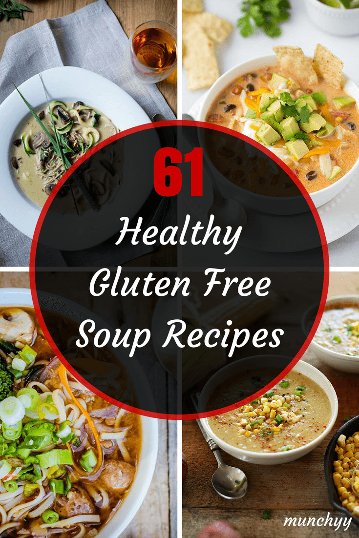 Healthy Dairy Free Recipes  61 Best Healthy Gluten Free Soup Recipes Munchyy