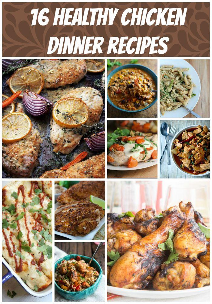 Healthy Dinner Ideas With Chicken  16 Healthy Chicken Recipes