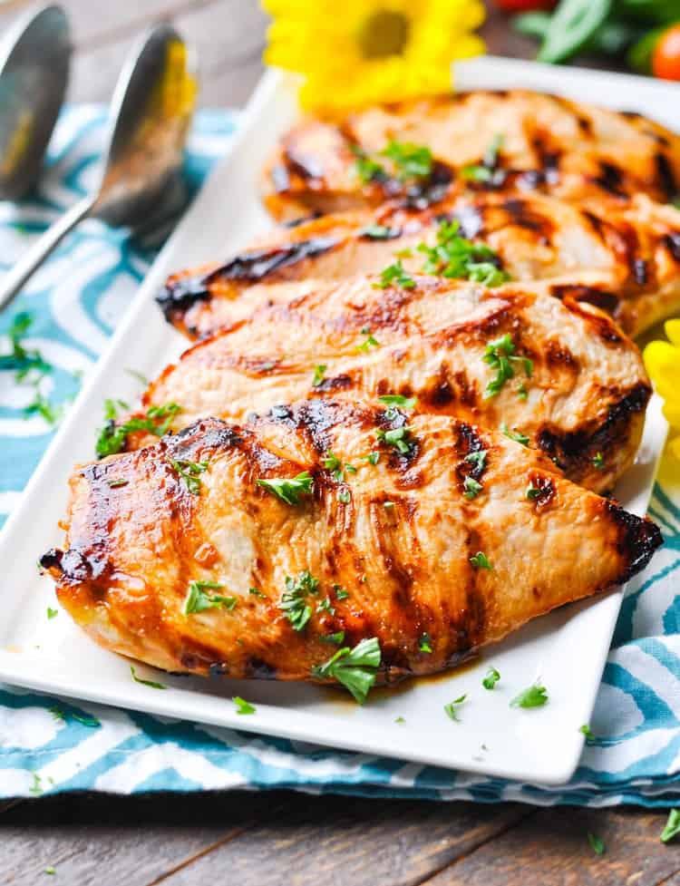 "Healthy Dinner Ideas With Chicken  ""No Work"" Marinated Chicken The Seasoned Mom"