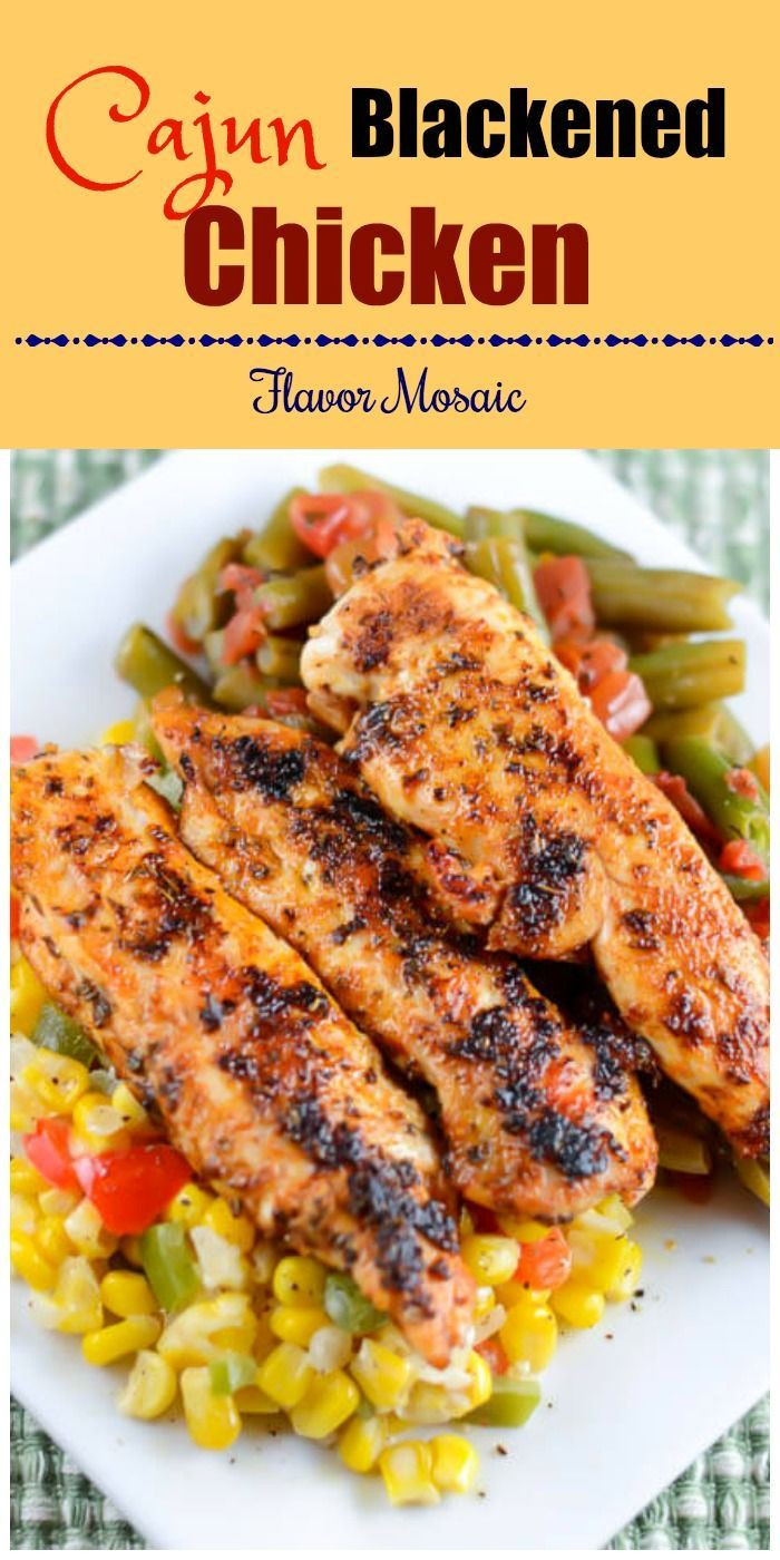 Healthy Dinner Ideas With Chicken  100 Cajun chicken recipes on Pinterest