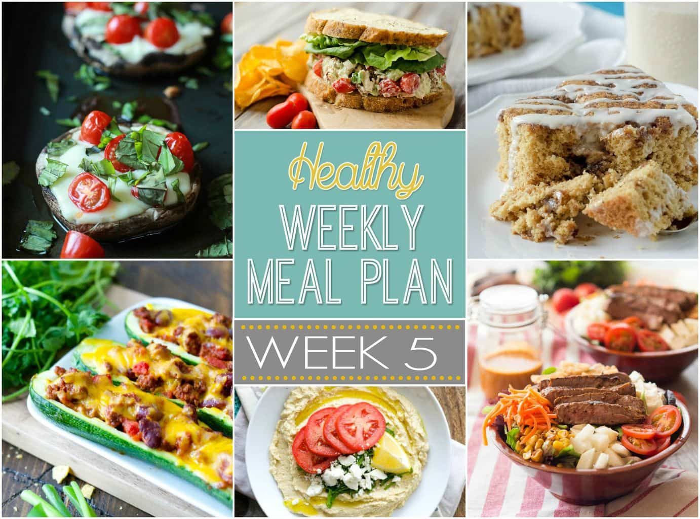 Healthy Dinners To Make  Healthy Weekly Meal Plan 5 Yummy Healthy Easy