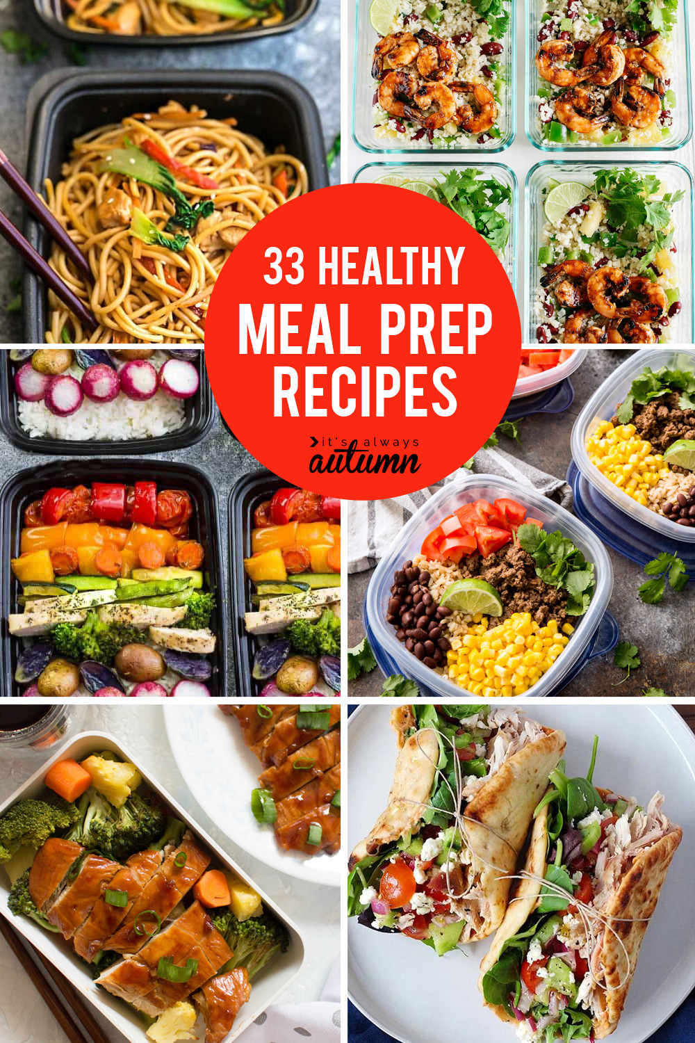 Healthy Dinners To Make  33 delicious meal prep recipes for healthy lunches that