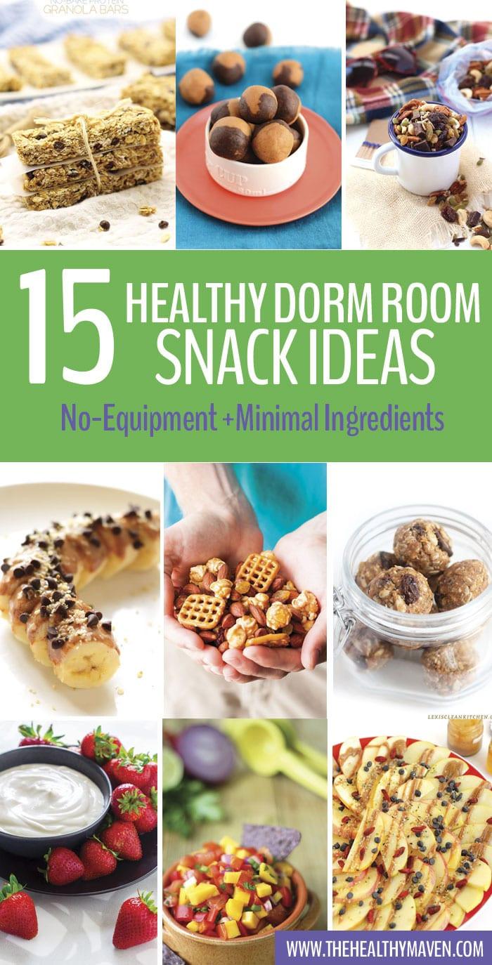 Healthy Dorm Room Snacks  Healthy Dorm Room Snack Ideas The Healthy Maven
