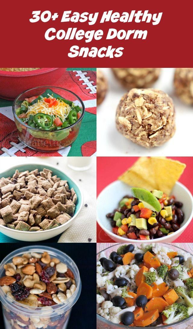 Healthy Dorm Room Snacks  30 Easy Healthy College Dorm Room Snack Recipes