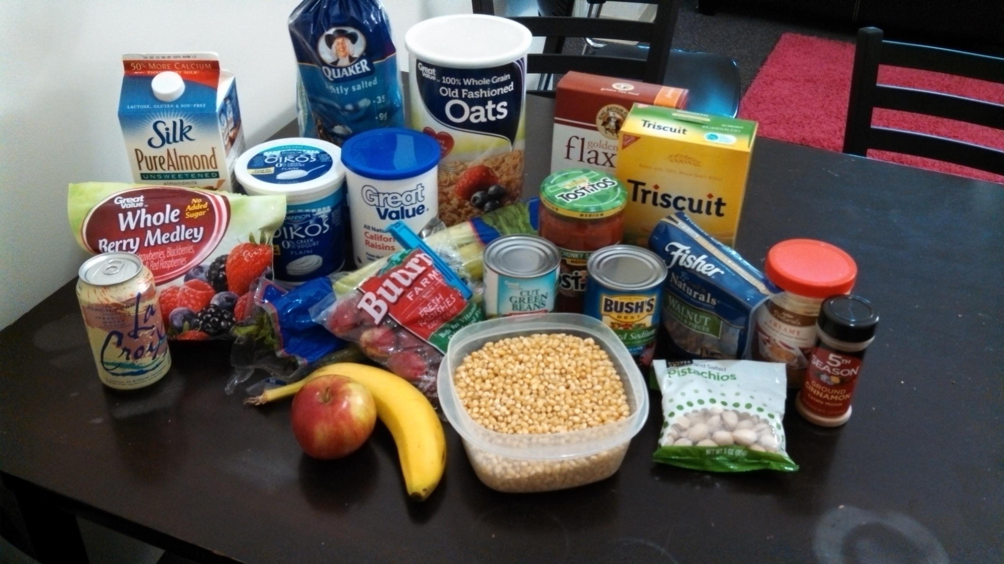 Healthy Dorm Room Snacks  College Dorm Room Food Ideas