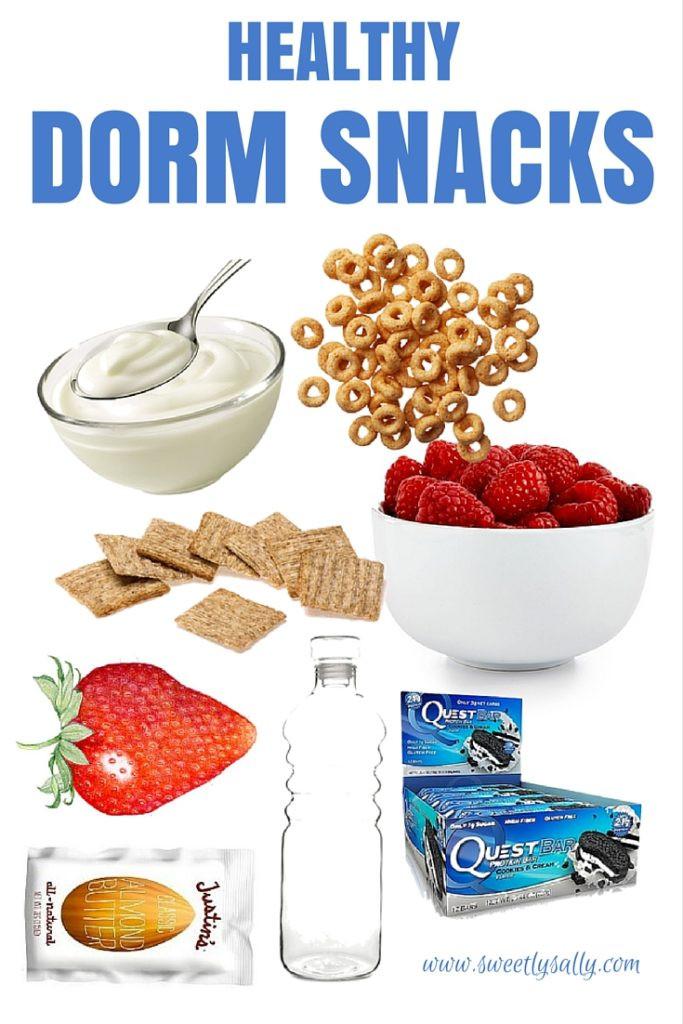 Healthy Dorm Room Snacks  College Healthy Snacks Dorm Sweetly Sally