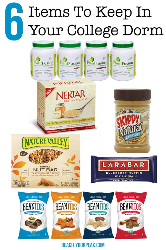 Healthy Dorm Room Snacks  6 Healthy Foods To Keep In Your Dorm Room Reach Your Peak