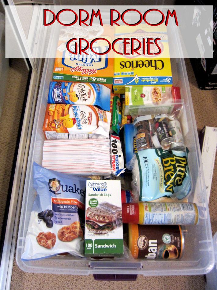 Healthy Dorm Room Snacks  Packing for Dorm Life