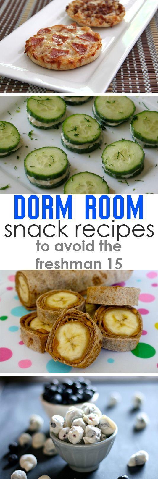 Healthy Dorm Room Snacks  Healthy Dorm Room Snack Recipes