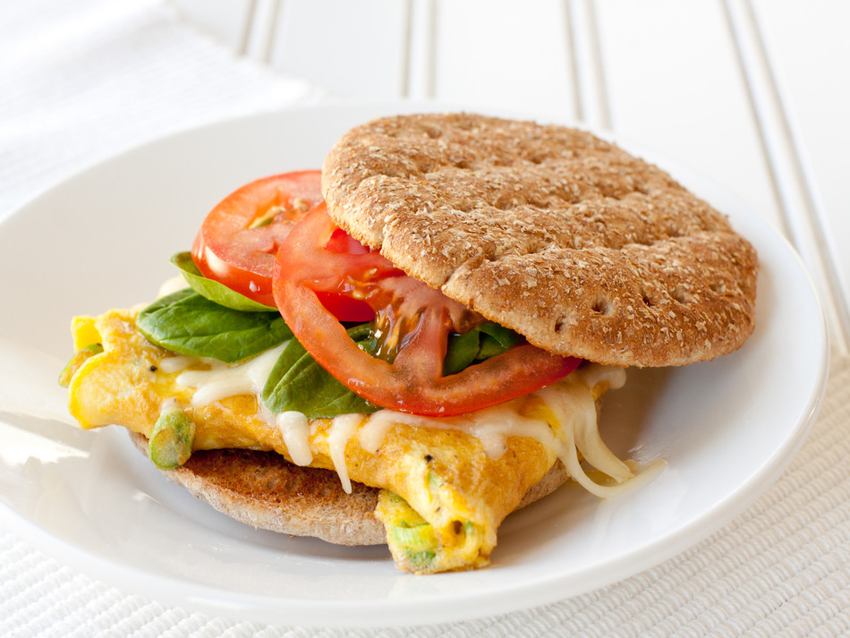 Healthy Egg Breakfast Sandwich  Eating Healthy The Run