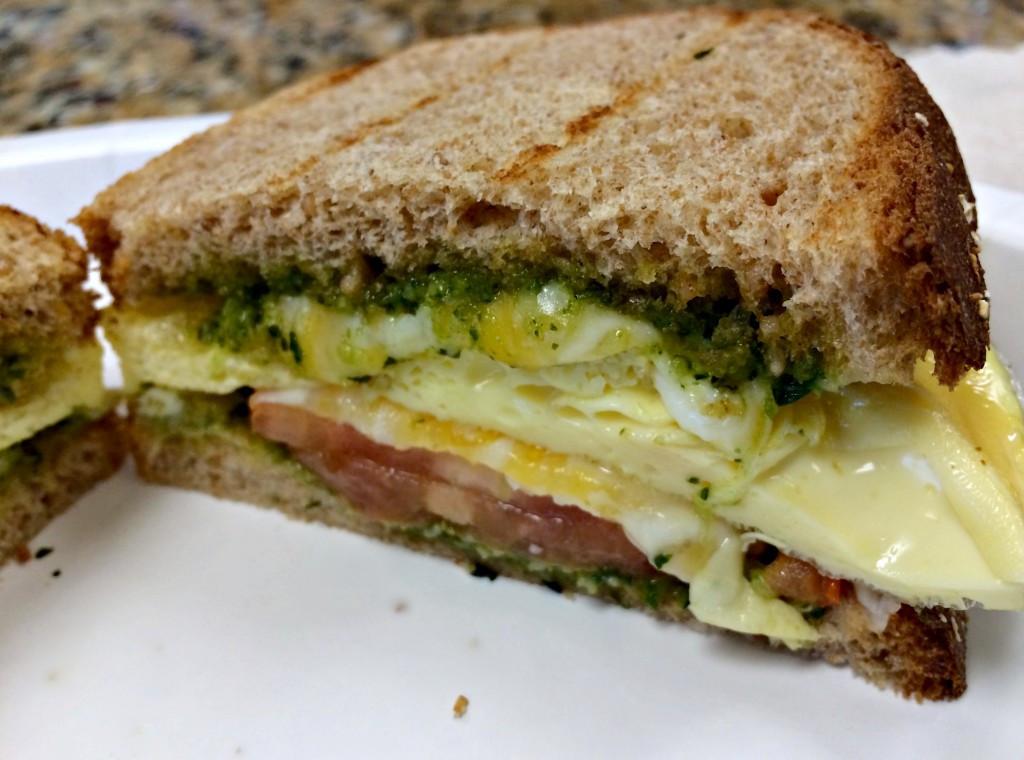 Healthy Egg Breakfast Sandwich  Feeling the Burn at Life Barre