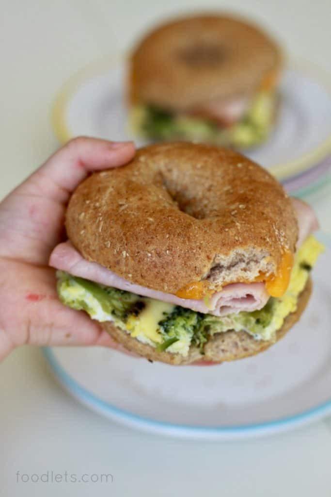 Healthy Egg Breakfast Sandwich  The Make Ahead Healthy Breakfast Recipe for Busy School Days