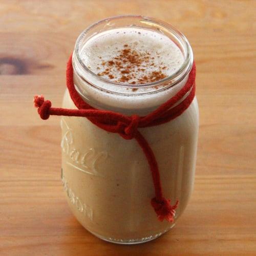 Healthy Eggnog Recipe  Healthy Smoothie Recipes Vegan Eggnog