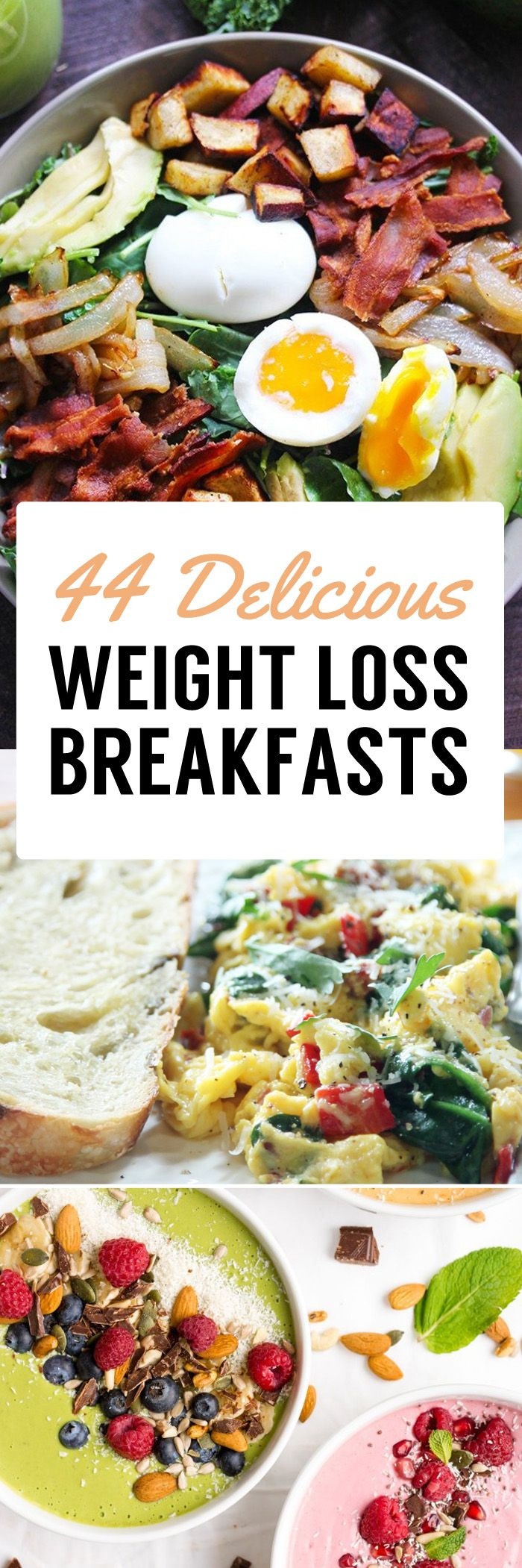 Healthy Fats For Breakfast  44 Weight Loss Breakfast Recipes To Jumpstart Your Fat