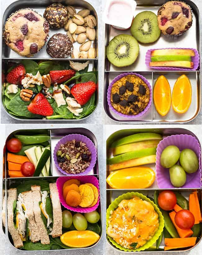 Healthy Foods For Kids School Lunches  6 Healthy School Lunches