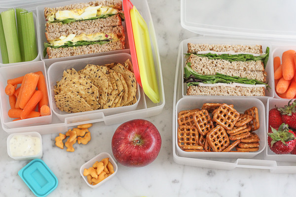 Healthy Foods For Kids School Lunches  25 Healthy Back To School Lunch Ideas • Hip Foo Mom