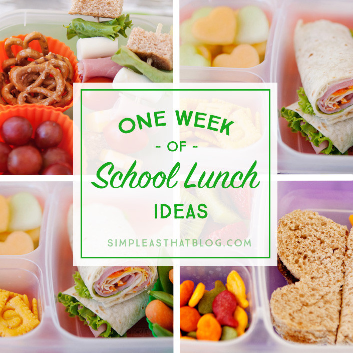 Healthy Foods For Kids School Lunches  Simple and Healthy School Lunch Ideas