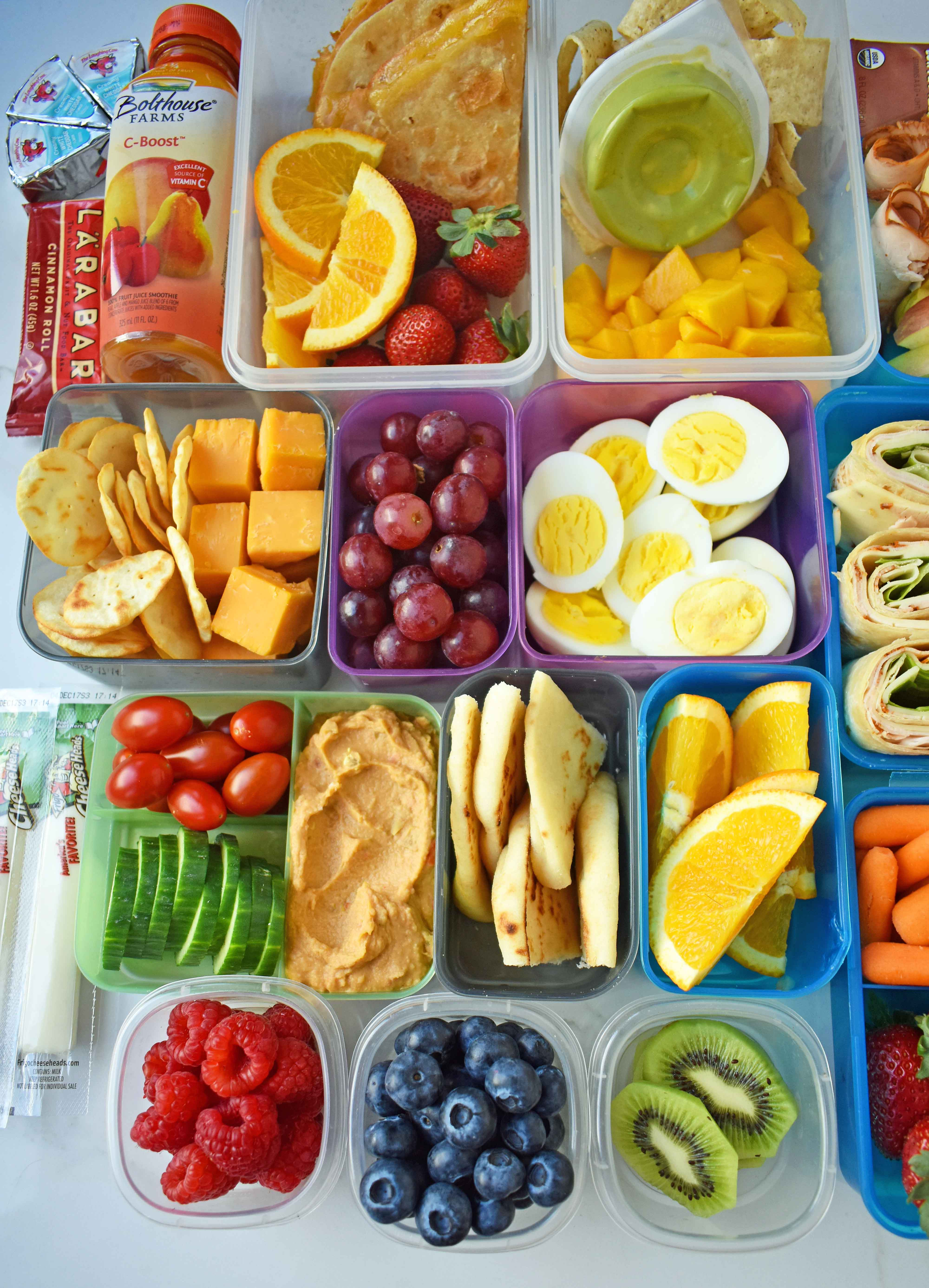 Healthy Foods For Kids School Lunches  Back to School Kids Lunch Ideas – Modern Honey
