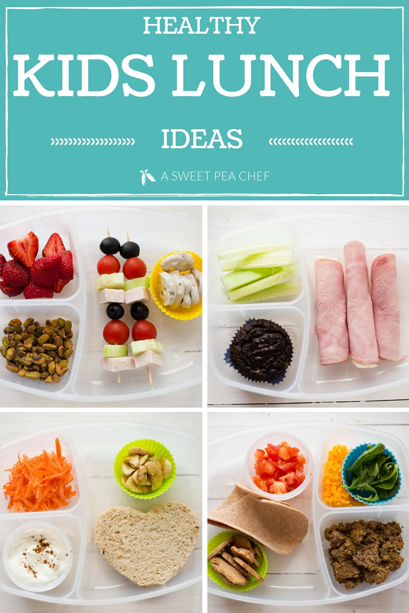 Healthy Foods For Kids School Lunches  Healthy Kids Lunch • A Sweet Pea Chef