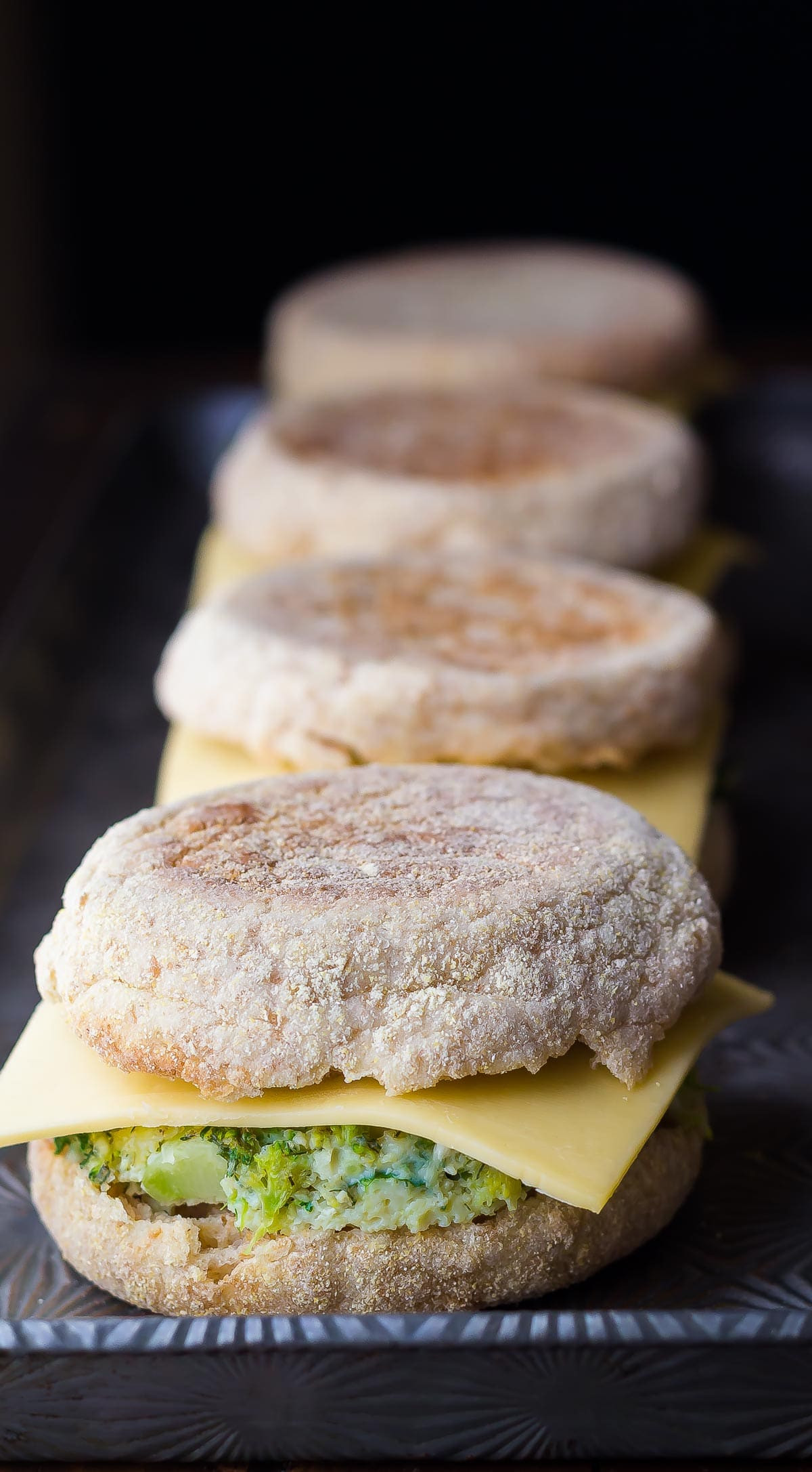 Healthy Freezer Breakfast Sandwiches  Healthy Freezer Breakfast Sandwiches