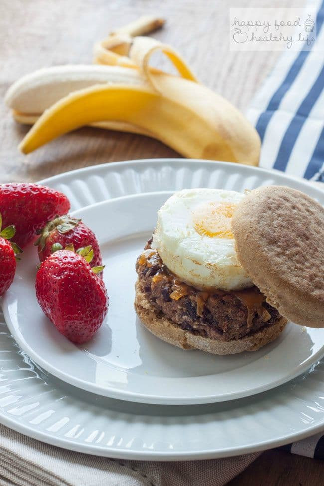 Healthy Freezer Breakfast Sandwiches  Ve arian Make Ahead Freezer Breakfast Sandwiches