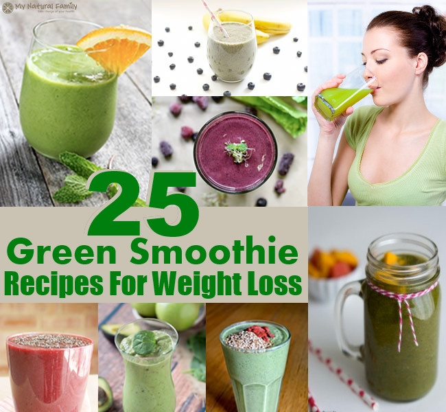 Healthy Green Smoothie Recipes For Weight Loss  25 Healthy And Delicious Green Smoothie Recipes For Weight