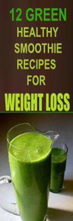 Healthy Green Smoothie Recipes For Weight Loss  11 Best images about SMOOTHIES on Pinterest