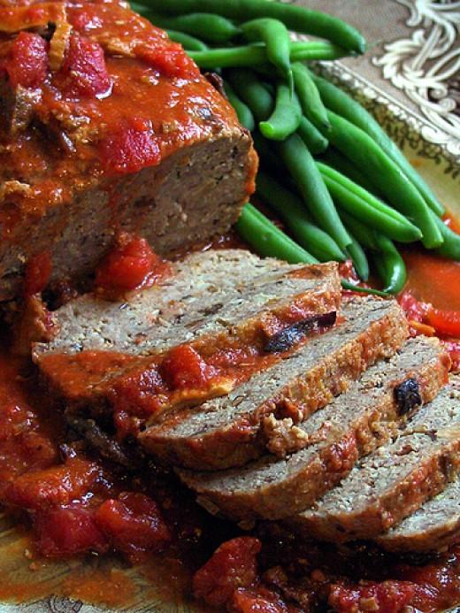 Healthy Ground Bison Recipes  Bison Recipes Ground Bison Meat Loaf Healthy fort