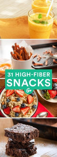 Healthy High Fiber Snacks  25 best ideas about High Fiber Snacks on Pinterest