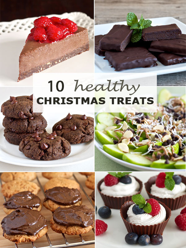 Healthy Holiday Desserts  10 Healthy Christmas Treats Paleo gluten free