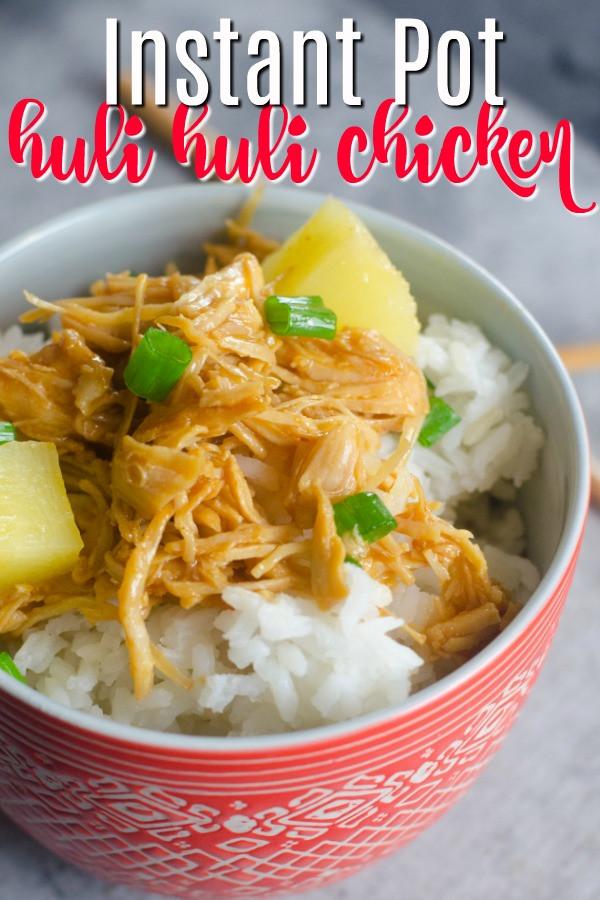 Healthy Instant Pot Recipes Chicken  Huli Huli Pressure Cooker Chicken